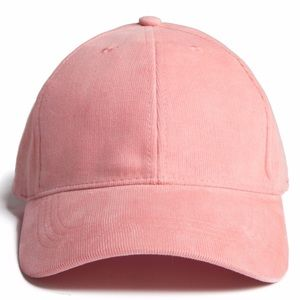 b4189291a4f The HATTER Company Accessories - NWT PINK CORDUROY BALL CAP.. Super Nice!